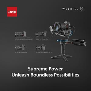Image 4 - ZHIYUN Weebill S 3 Axis Image Transmission Gimbal Stabilizer for Mirrorless Camera CANON NIKON SONY DSLR camera