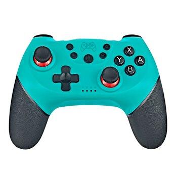 Беспроводной Bluetooth геймпад для Nintendo Switch Pro NS переключатель Pro игровой джойстик игровой контроллер для коммутатора консоли с 6 осевым ручка Портативные игровые консоли      АлиЭкспресс