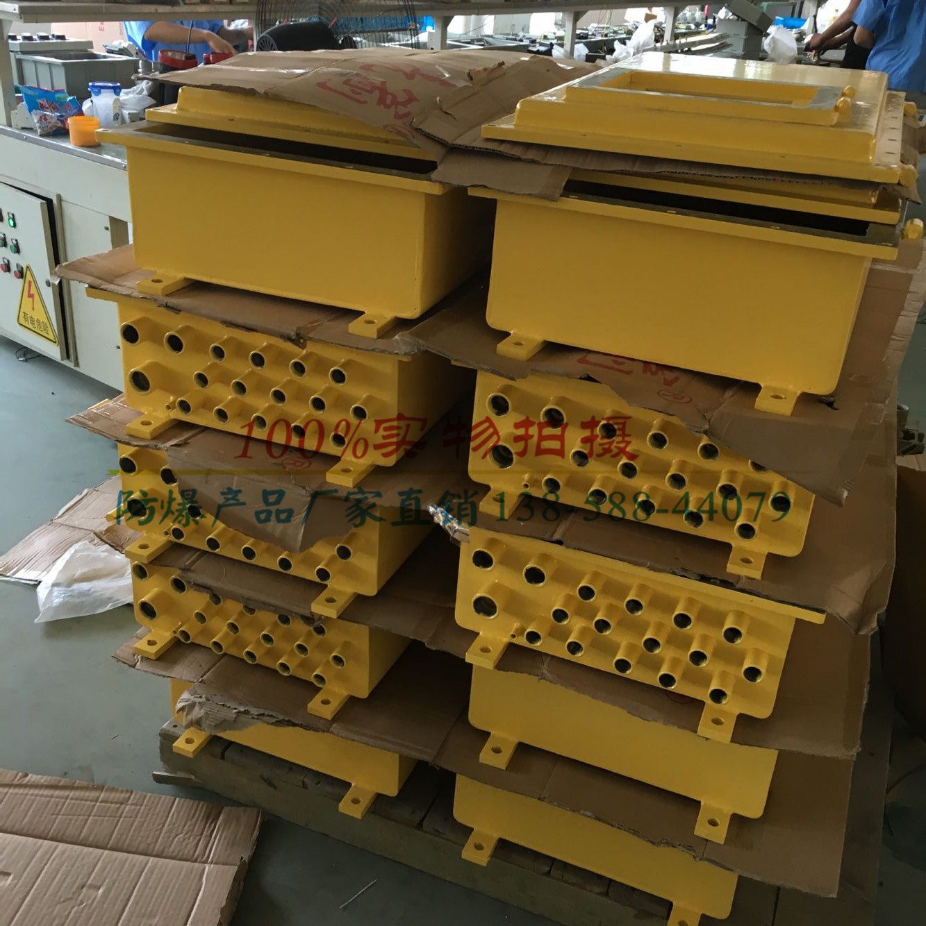 Explosion-proof Control Box Manufacturers Customizable Different Color Number Power Distribution Cabinet Bxk-Y Steel Plate Contr