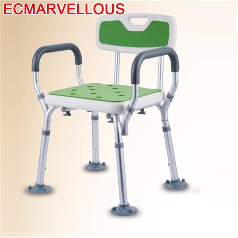Mobilya'ten Banyo Sandalyeleri ve Tabureleri'de Mobilya Silla Tabouret Salle Bain Minusvalido Cadeira De Banho Idoso Taburete Ducha duş banyo ayak taburesi banyo sandalye title=