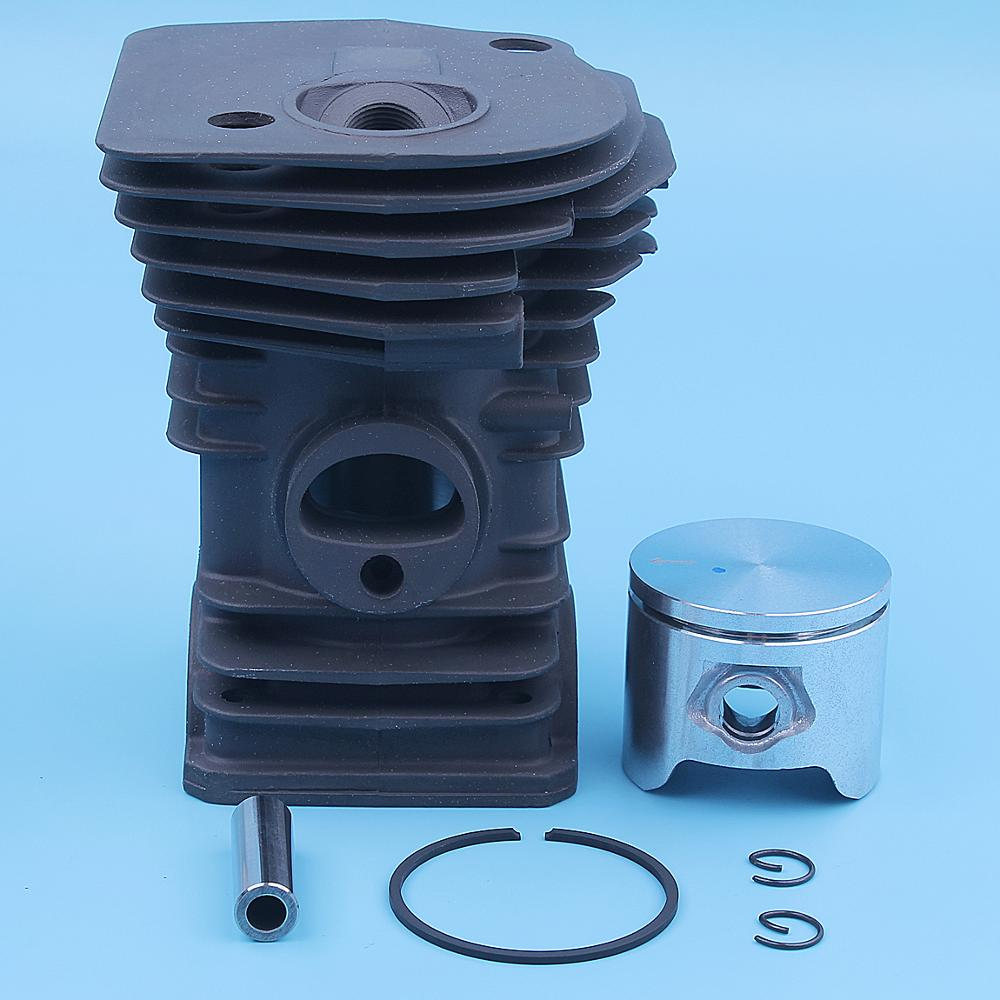 44mm Cylinder Piston Ring Kit For Husqvarna 350 345 340 EPA Chainsaw 537253004 537253002 Replacement Spare Part