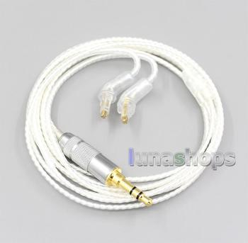 Hi-Res Silver Plated 7N OCC Earphone Cable For Sony MDR-EX1000 MDR-EX600 MDR-EX800 MDR-7550 LN006647