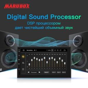 Image 2 - Marubox 7インチPX6アンドロイド10.0ユニバーサル2 dinナビゲーショントヨタ1024*600 ipsスクリーン、gps、ラジオ6686、bluetooth