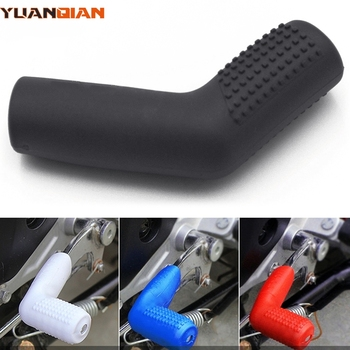Motorcycle Rubber Gear Shift Lever Rubber Sock Protector For Suzuki GSX-R GSXR 125/150 600 750 1000 1100 1300 GSXS750 GSX-S750 image