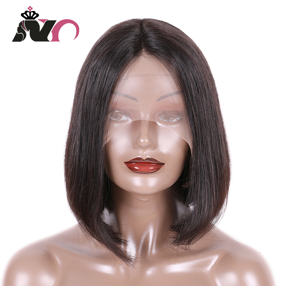 NY Hair Bob Lace Front Wigs Brazilian Hair Lace Front Human Hair Wigs Straight Hair Short Bob Lace Front Wigs For Black Women
