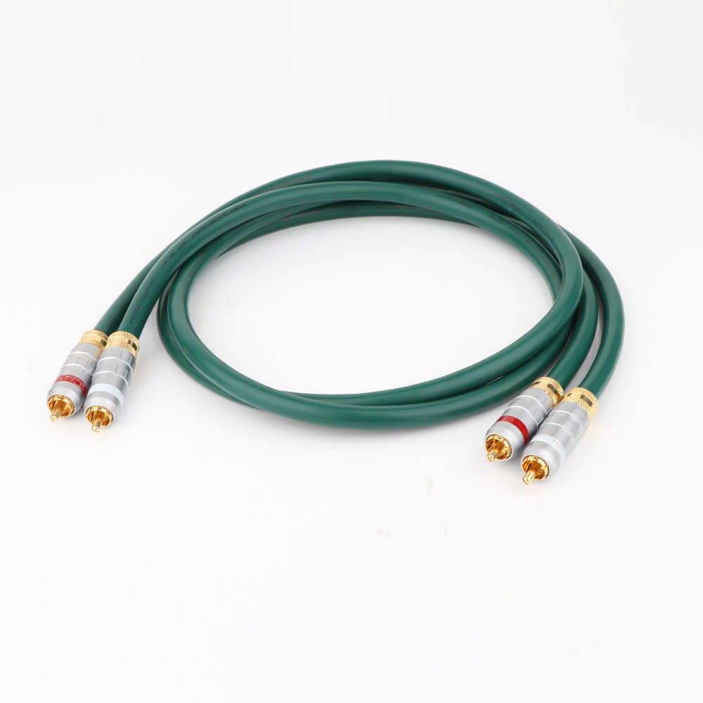 Аудиокабель PCOCC, медный, RCA, для подключения аудио, видео, RCA, signale, Hi-Fi