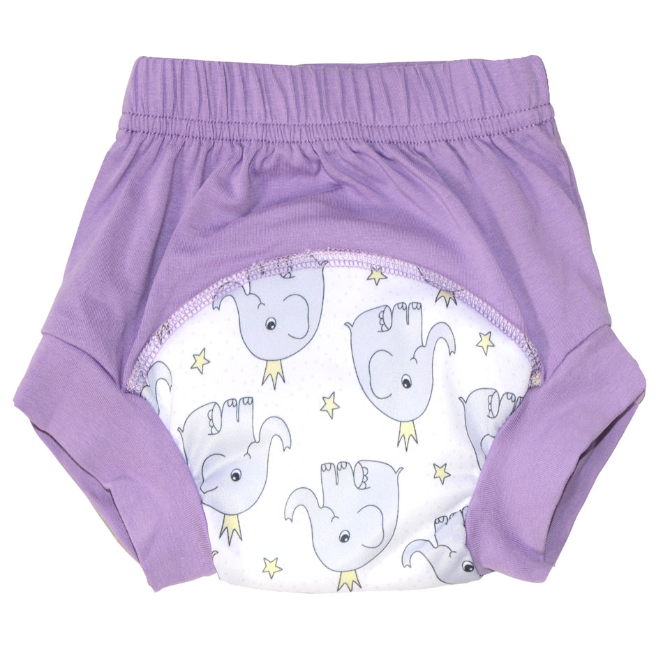 10pcs/lot 92% Cotton 8% Spandex Training Pants For Baby,Waterproof PUL And 2 Layers Microfiber In The Middle