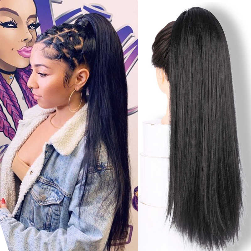 Jinkaili Afro Puff Kinky Straight Drawstring Ponytail Updo Synthetic Elastic Band Heat Resistant Women Pony Tail Hair Extensions Aliexpress
