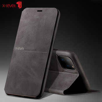 X-Level Premium Leather Cases For New iPhone 11 Pro XS Max XR X 8 8 6S 7 Plus Full Protective Bussiness Cover Case