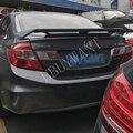 Для Honda Civic 2012 2013 2014 2015 высокое качество внешний ABS пластик праймер цвет украшение в виде хвостового крыла задний спойлер багажника