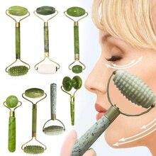 Face Lift Massager Crystal Roller Facial Massage Relaxation Jade Roller Stone Natural