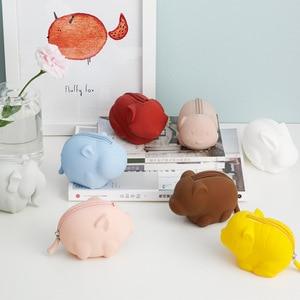 Image 1 - Youpin Jordan&Judy Silicone Coin Purse Cartoon Animal Series Storage Bag Decoration Portable Doll Coin Purse