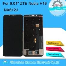 """6.01 """"Gốc M & Sen Cho ZTE Nubia V18 NX612J Màn Hình LCD Hiển Thị Màn Hình + Cảm Ứng Bộ Số Hóa Cho 2160X1080 Nubia V18 NX612J Màn Hình Hiển Thị"""