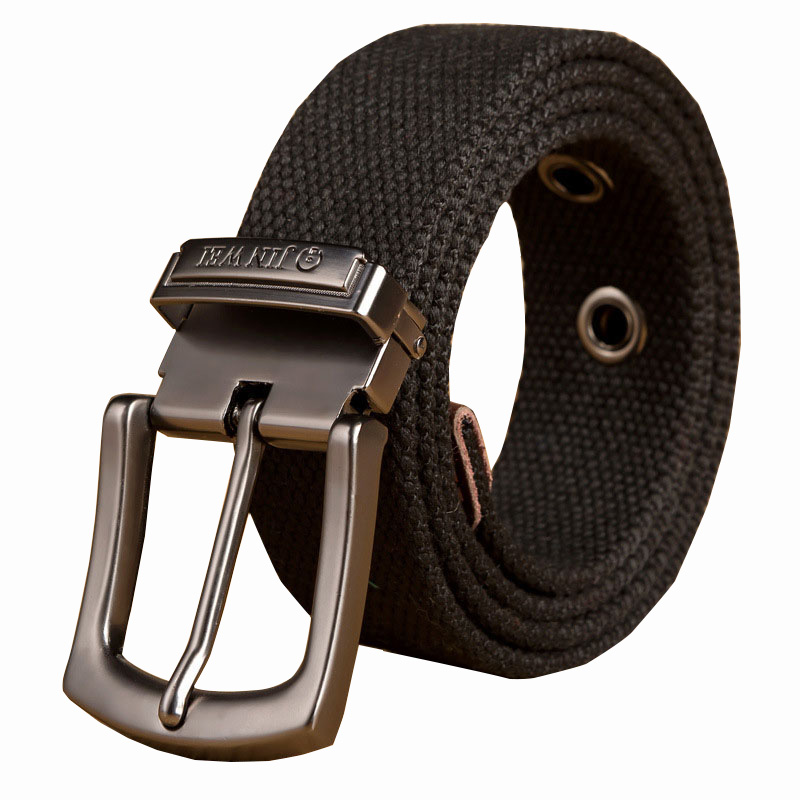 Best YBT Men Weave Canvas Belt Military Workout Casual Jeans Brand Male Tactical Men Long Wild High Quality Hot Sale Belt