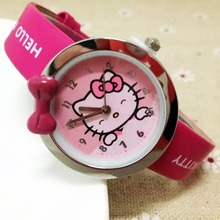 High Quality Kids Watch hello kitty Fashion Casual Student G