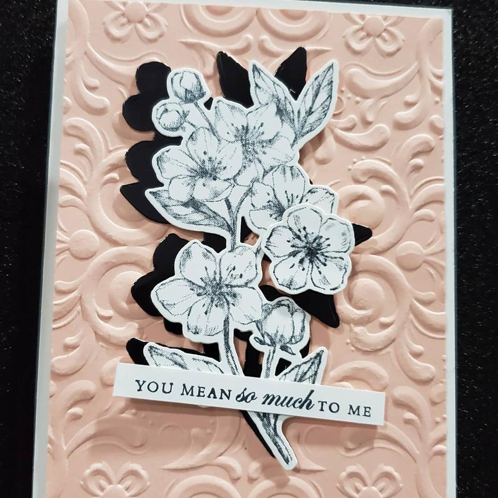 FLOWER Metal Cutting Dies and Stamps for DIY Scrapbooking Photo Card Making Deco
