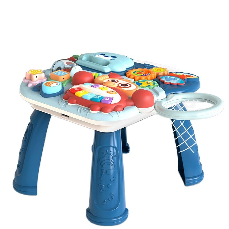Toy walker game table 2 in 1 Toddler stroller baby learning to walk baby assisting child car toys