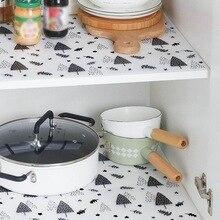 Резка шкаф бумага для выпечки ящик толстые водонепроницаемые, влажность наклейки для кухни домашний гардероб коврик плесени доказательство обуви коврик в шкафчик