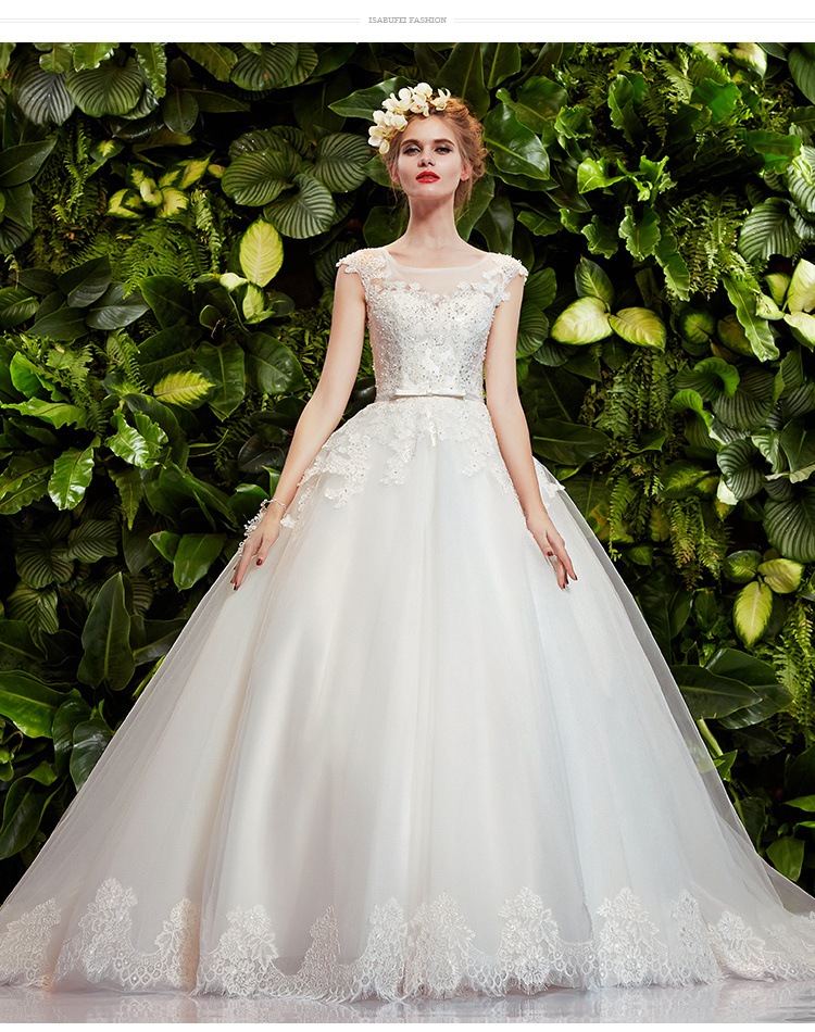 vestido de noiva 2018 free Shipping Arrival Handmade Custom sexy lace appliques beading bridal gown mother of the bride dresses