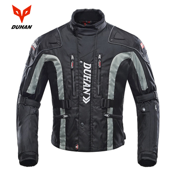 DUHAN Motorcycle Jacket Motocross Equipment Gear Men Motorcycle Cold-proof Moto Clothing Oxford Cloth Cotton Underwear duhan men s oxford cloth motorcycle racing jacket motocross alloy shoulder protector jaqueta windproof body protective clothing