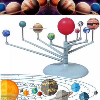 Solar System Nine Planets Planetarium Model Kit Astronomy Science Project DIY Kids Gift Worldwide Sale Early Education For Child