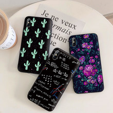 Cassa Del Telefono per Iphone 6 Plus Iphone 8 Caso Coque Rigide per Iphone 7 8 6 S 6 S Donna Copre Fundas Fiore 7 Più Coque Retro(China)