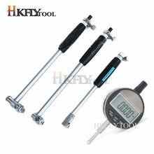 Varilla de medición de calibre interior, indicador digital de diámetro interior de 50-160mm, de 12,7mm con sonda, herramienta de medición de 10-18mm