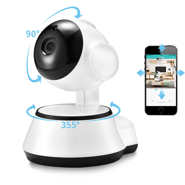 BESDER Home Security IP Camera Wireless Smart WiFi Camera WI FI Audio Record Surveillance Baby Monitor HD Mini CCTV Camera iCSee