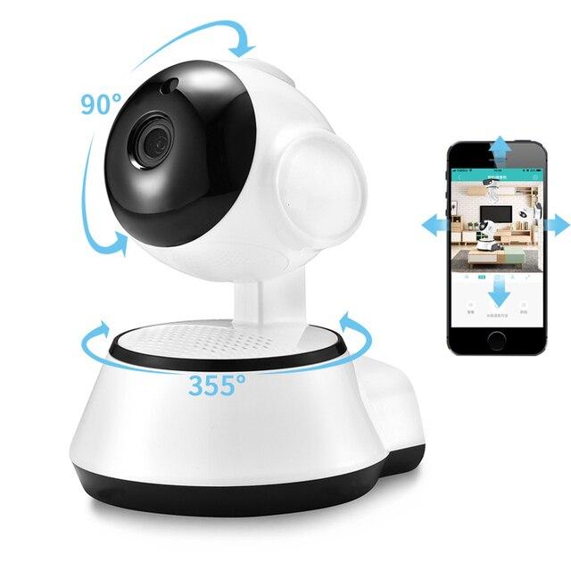 BESDER sécurité à domicile caméra IP sans fil intelligent WiFi caméra WI FI enregistrement Audio Surveillance bébé moniteur HD Mini caméra de vidéosurveillance iCSee