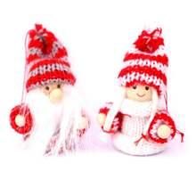 Рождественские украшения glorystar 2 шт кукла подвеска на рождественскую