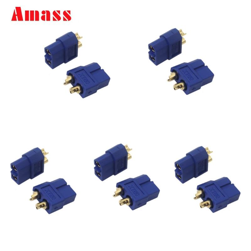 10 пар, 20 шт., XT60, XT30, Amass, XT30U, XT60+, мужские и женские пулевые разъемы, штепсельная Вилка для радиоуправляемого квадрокоптера, FPV, гоночного дрона, батарея Lipo