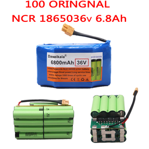 New 100% Original 36v 6.8ah lithium battery 10s2p 36v Battery 6800mAh lithium ion pack 42V 6800mah scooter twist car battery