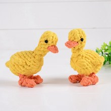 Pet Dog Toy Bone Bear Duck Lion Giraffe Panda Carrot Shape Rope Puppy Chew Toys Tooth Cleaning Outdoor Fun Training Toys(China)