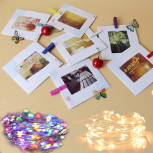 10pc Photo Frame For Picture String lights Holder Graduation Party Photo Booth Props for Wedding Birthday Baby Shower Wall Decor 10pcs diy photo frame wooden clip paper picture holder wall decoration for wedding baby shower birthday party photo booth props
