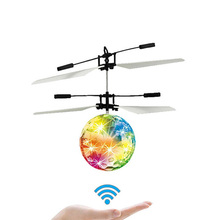 Vehicle-Toy Drone Flying-Ball Rc-Helicopter Remote-Control Smart-Induction Luminous-Flying