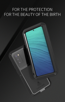 For Samsung Galaxy S20 Case 6.1'' Love Mei Powerful Full-body Shockproof Rugged Metal Armor Phone Case For Samsung Galaxy S20 фото