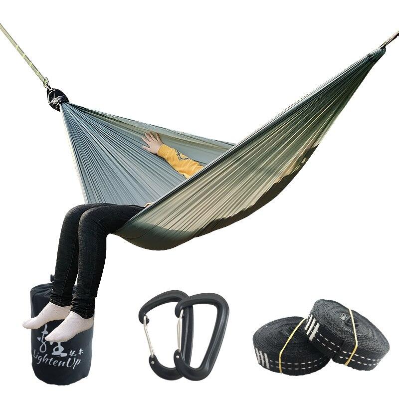328 Promotion Ultra Light Hammock Portable Nylon Hammock Portable Hammock Person Camping Survival