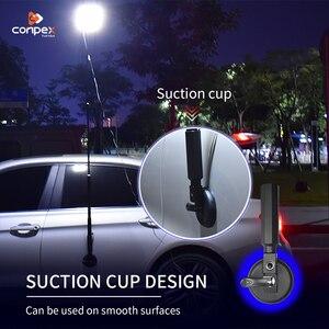 Image 5 - 3M Telescopische Led Hengel Outdoor Zoeklicht Camping Lantaarn Lamp Voor Road Trip Self Drive Travelling Met Afstandsbediening controle