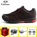 Tiebao обувь для отдыха и велоспорта sapatilha ciclismo mtb мужские спортивные кроссовки для езды на велосипеде с самоблокирующимся покрытием обувь для ...