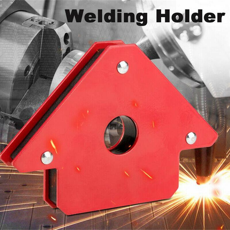 25LB/75LB Soldering Locator Strong Magnetic Welding Magnets Holder 3 Angle Arrow Welder Positioner Welding Tool Accessories