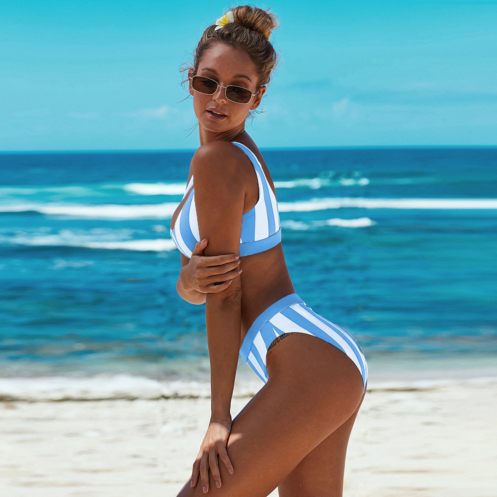 Fanceey 2020 Women Sexy Bikini Set Push Up Female Swimsuit Swimwear Swim Separate Two Piece Brazilian Bathing Suit