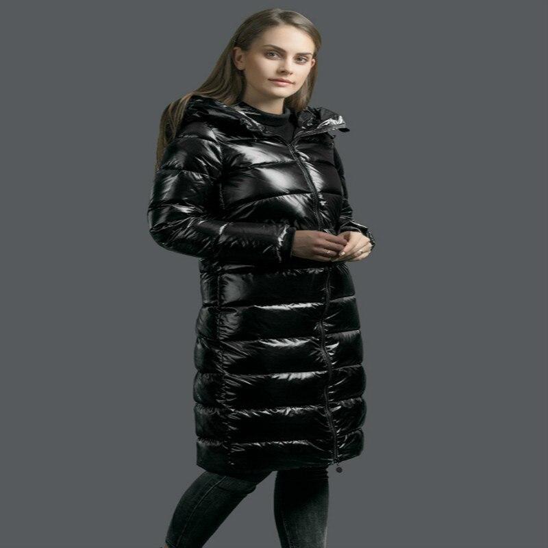 Winter Jacket Women 2020 New Winter Coat Thick Warm Female Down Jacket Hooded Long Women's Parkas Down Coats Hiver A8018