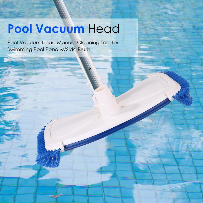 US $18.11 10% OFF Swimming Pool Suction Vacuum Head Brush Cleaner Pond Pool  Ground Cleaning Tool a Brush Can Effectively Remove Stains-in Cleaning ...