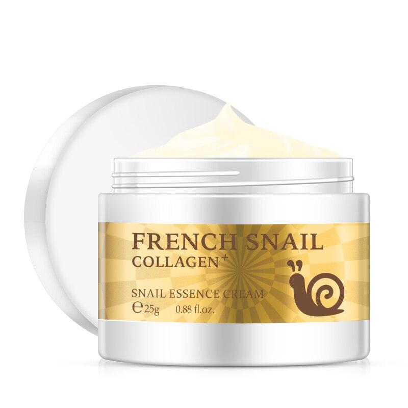 Snail Face Cream Collagen Anti-Wrinkle Anti-Aging Facial Day Cream Hyaluronic Acid Moisturizer Nourishing Tight Skin Serum Care