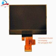 Vdo Speedometer แสดงผล Cluster Lcd Display สำหรับ Peugeot 407 407SW/HDI/คู่แดชบอร์ดจอแสดงผลซ่อม