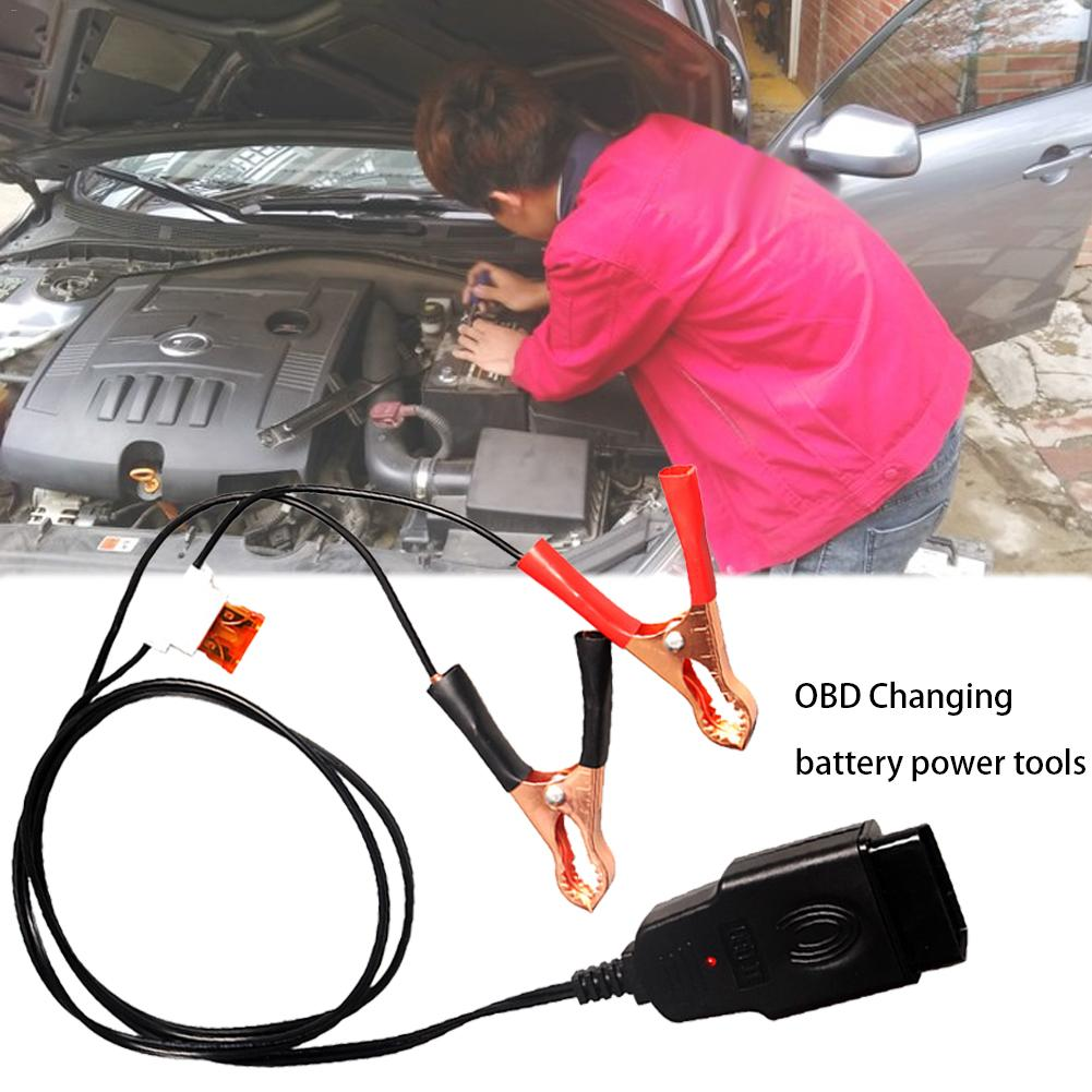 Automotive Car Computer Power-off Memory OBD Changing Battery ECU Emergency Power Tools Change Battery Leakage Detection Tool