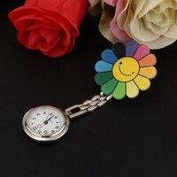 2Pcs Fashion Pocket Watch Nurse Women Paramedic Tunic Clip Brooch Doctor Fob Zinc Alloy Watches