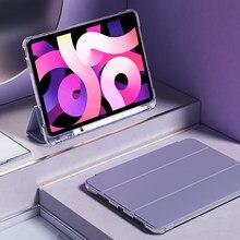 Para ipad pro 11 caso 2020 ipad ar 4 caso lápis ipad 10.2 7th 8th geração caso ipad ar 2 caso 9.7 mini 4 5 2019 ar 3 10.5
