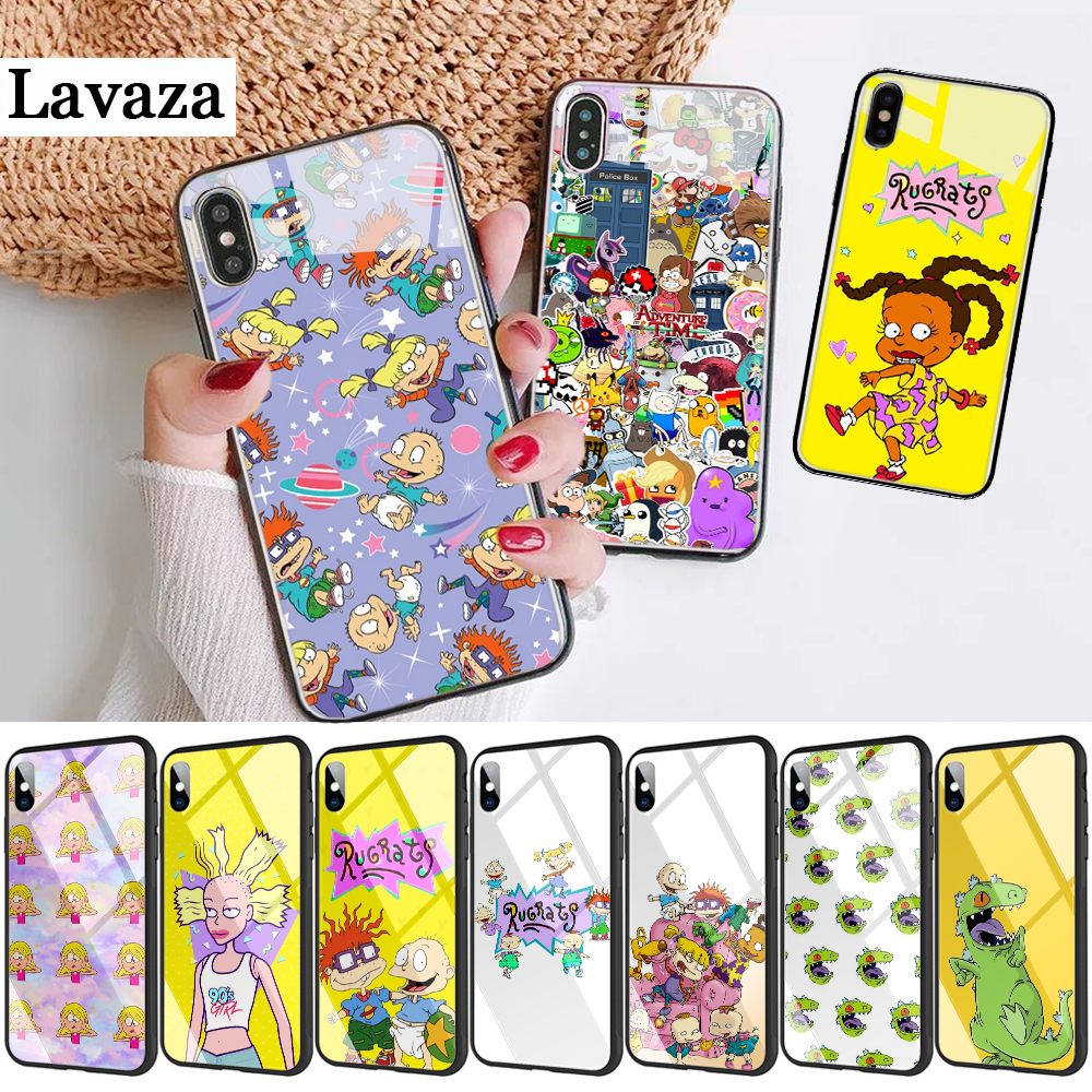 298d Rugrats <font><b>Amazing</b></font> new arrival Glass Case for <font><b>Xiaomi</b></font> 8 Lite 9 A1 A2 5X 6X Redmi 4X 6A Note 5 6 7 Pro image