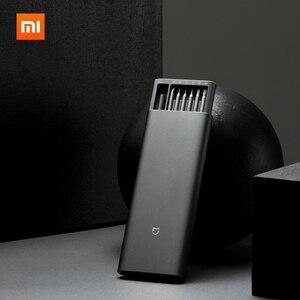Image 1 - Mới Có Hàng Xiaomi Mijia Sử Dụng Hàng Ngày Vít Lái Xe Bộ 24 Độ Chính Xác Đầu Nam Châm Alluminum Hộp Wiha DIY Vít người Lái Xe Bộ
